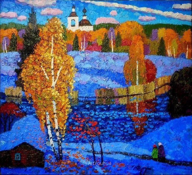 色彩艳丽,俄罗斯艺术家Igor Zagrievich Berdyshev插图30
