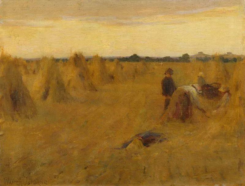 穷人的纪实描绘,爱尔兰画家Walter Frederick Osborne插图25
