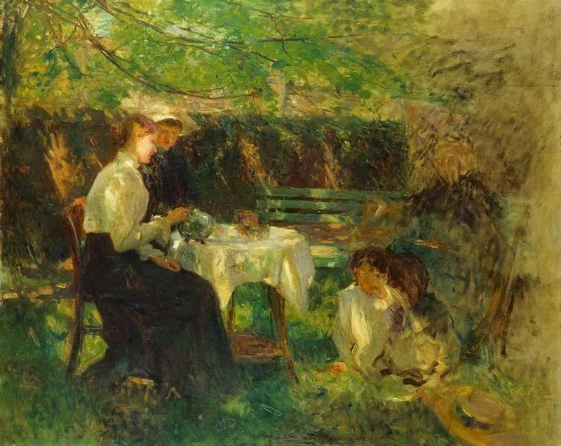 穷人的纪实描绘,爱尔兰画家Walter Frederick Osborne插图27