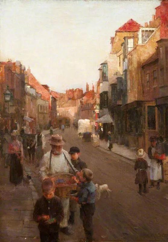 穷人的纪实描绘,爱尔兰画家Walter Frederick Osborne插图28