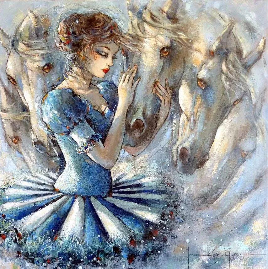 充满诗意幻想的世界,法国女画家Jeanne Saint Chéron插图2