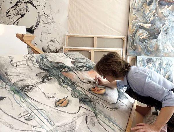 充满诗意幻想的世界,法国女画家Jeanne Saint Chéron插图3