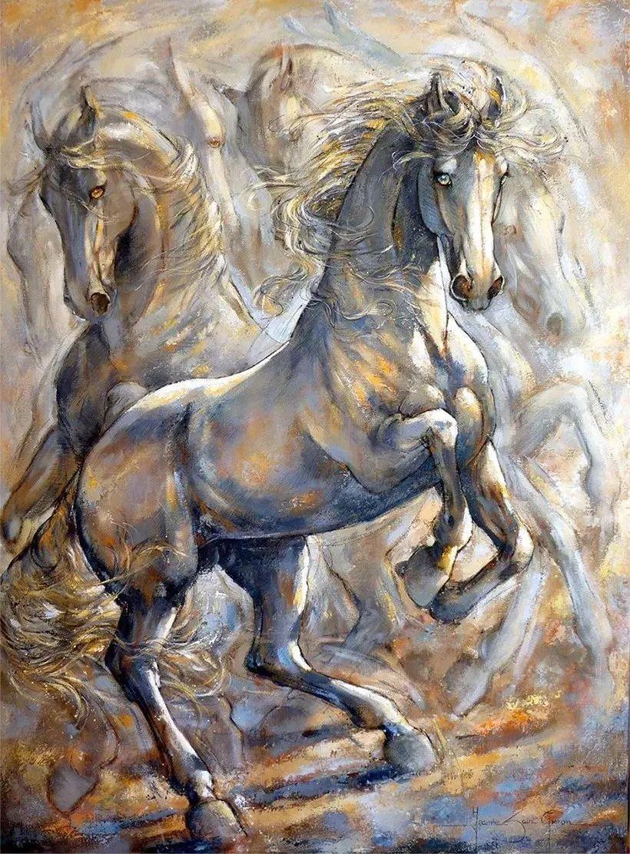 充满诗意幻想的世界,法国女画家Jeanne Saint Chéron插图7