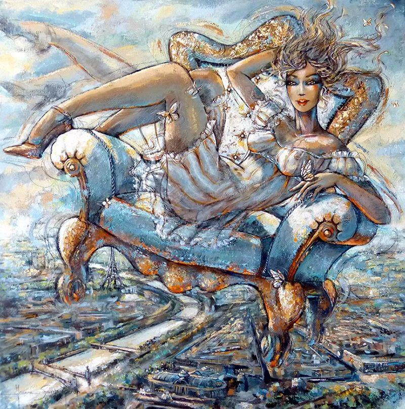 充满诗意幻想的世界,法国女画家Jeanne Saint Chéron插图9