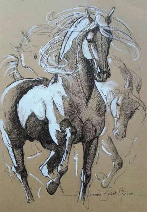 充满诗意幻想的世界,法国女画家Jeanne Saint Chéron插图10