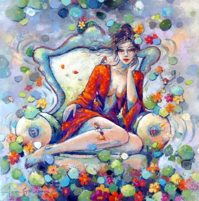 充满诗意幻想的世界,法国女画家Jeanne Saint Chéron插图11
