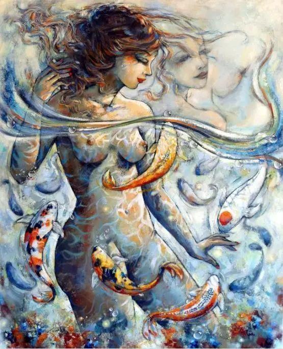 充满诗意幻想的世界,法国女画家Jeanne Saint Chéron插图14