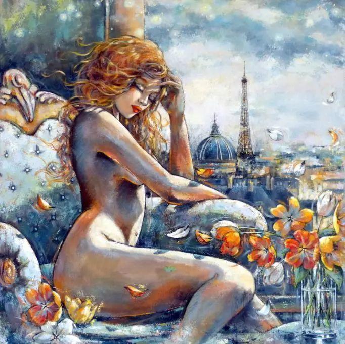 充满诗意幻想的世界,法国女画家Jeanne Saint Chéron插图15