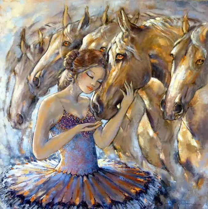 充满诗意幻想的世界,法国女画家Jeanne Saint Chéron插图16