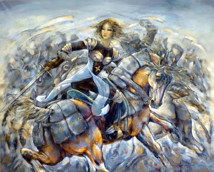 充满诗意幻想的世界,法国女画家Jeanne Saint Chéron插图21