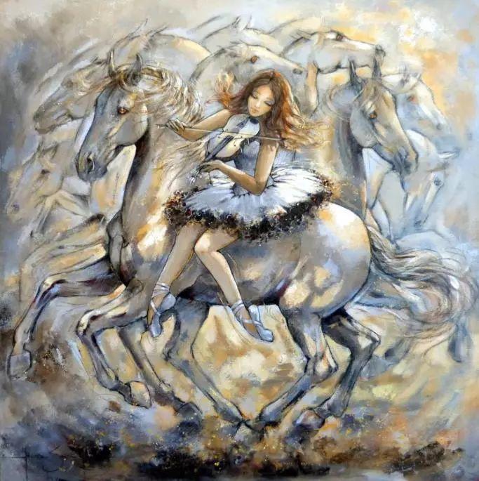充满诗意幻想的世界,法国女画家Jeanne Saint Chéron插图23