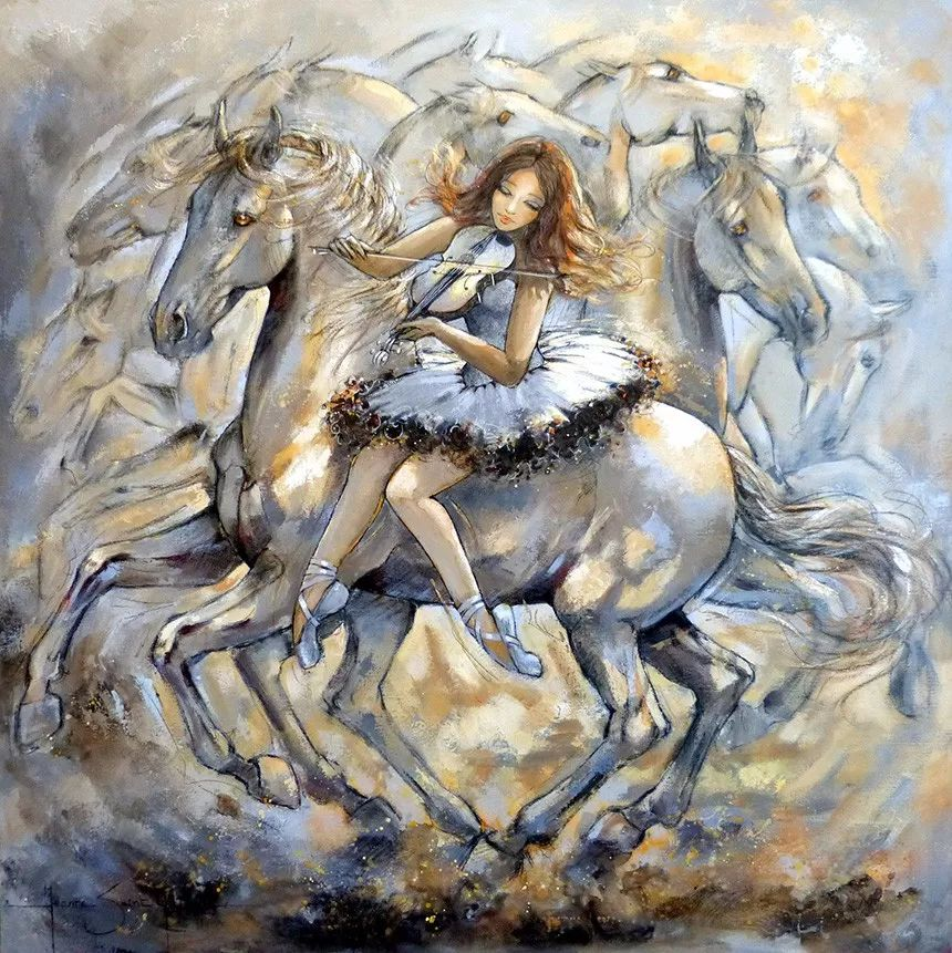 充满诗意幻想的世界,法国女画家Jeanne Saint Chéron插图28