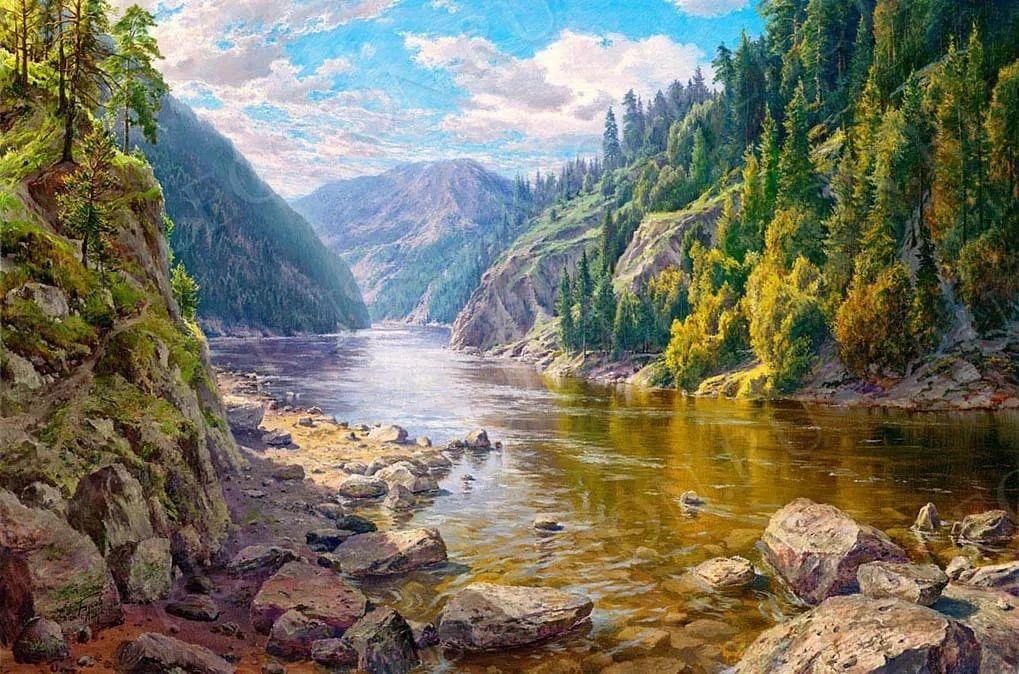 大自然之美,马里埃尔艺术家Sergey Basov插图