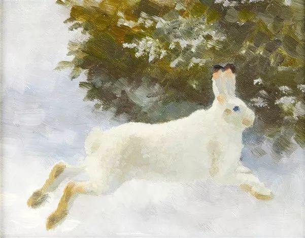 著名野生动物画家,瑞典Bruno Liljefors插图12