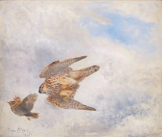 著名野生动物画家,瑞典Bruno Liljefors插图14