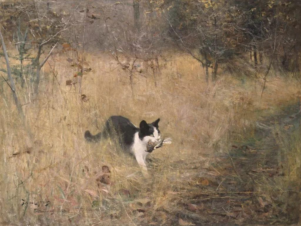著名野生动物画家,瑞典Bruno Liljefors插图35