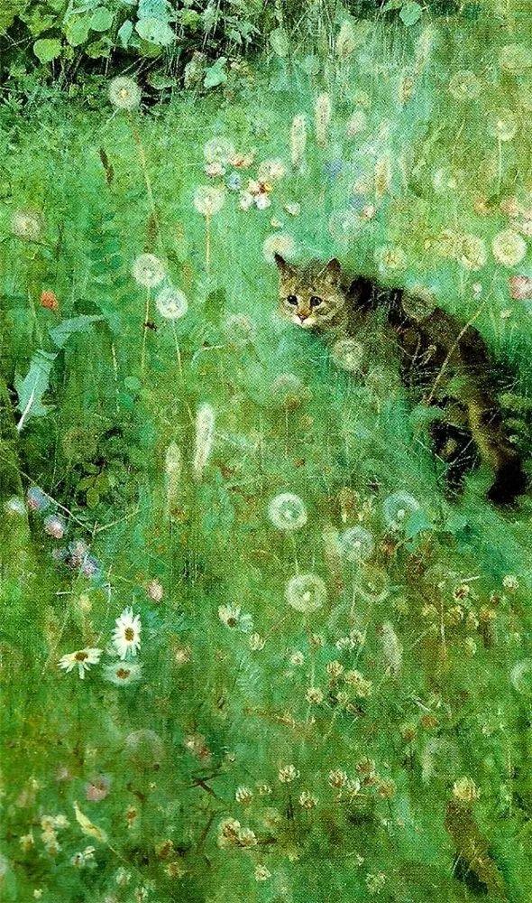 著名野生动物画家,瑞典Bruno Liljefors插图36