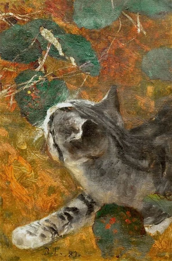 著名野生动物画家,瑞典Bruno Liljefors插图37
