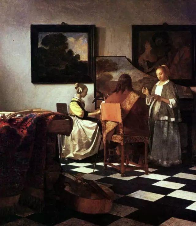 好画不在多,维米尔一生只活了43岁,只画了45幅作品插图14