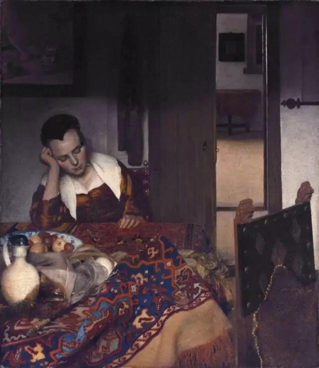 好画不在多,维米尔一生只活了43岁,只画了45幅作品插图24
