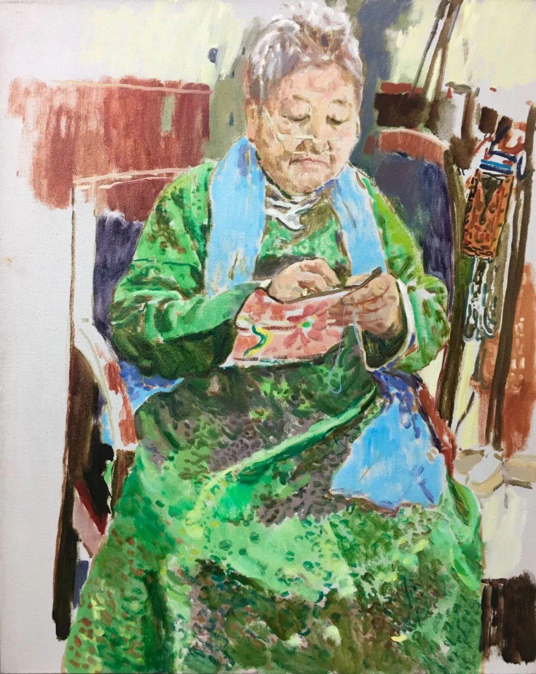 展讯 | 写意气象2019——中国油画展插图31