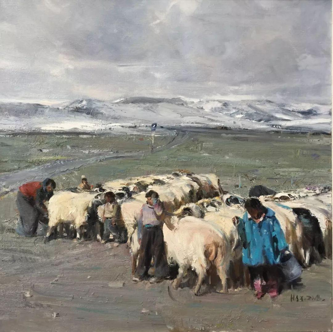 展讯 | 写意气象2019——中国油画展插图48