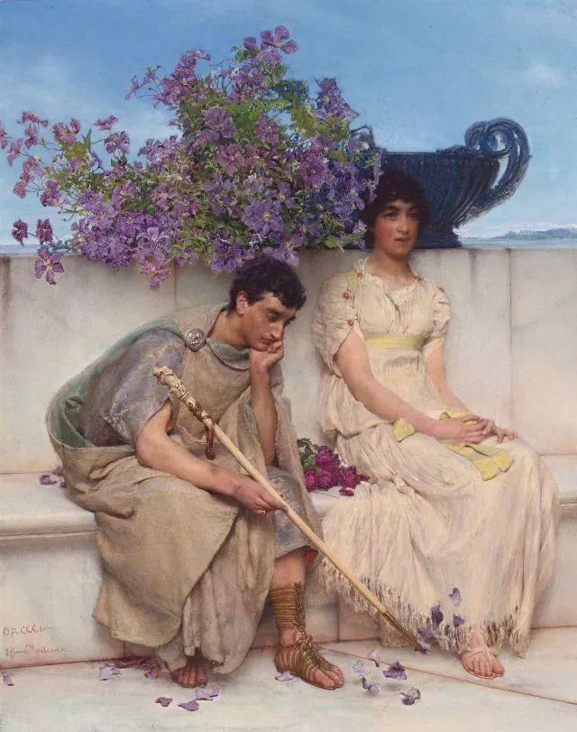 超群的写实技巧和优美的画面构成,英国画家Lawrence Alma Tadema插图2