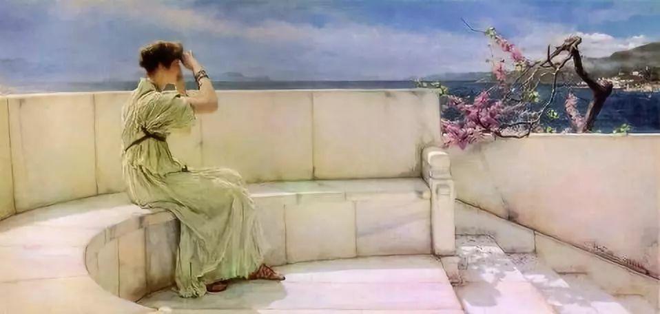 超群的写实技巧和优美的画面构成,英国画家Lawrence Alma Tadema插图3