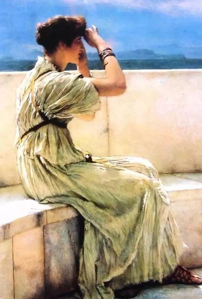 超群的写实技巧和优美的画面构成,英国画家Lawrence Alma Tadema插图4