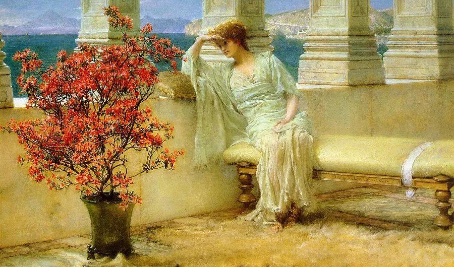 超群的写实技巧和优美的画面构成,英国画家Lawrence Alma Tadema插图5