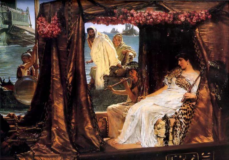 超群的写实技巧和优美的画面构成,英国画家Lawrence Alma Tadema插图6