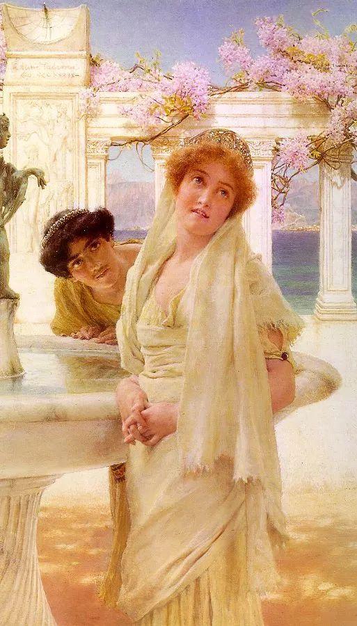 超群的写实技巧和优美的画面构成,英国画家Lawrence Alma Tadema插图7
