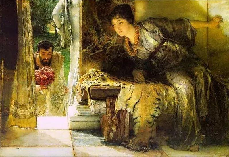 超群的写实技巧和优美的画面构成,英国画家Lawrence Alma Tadema插图8