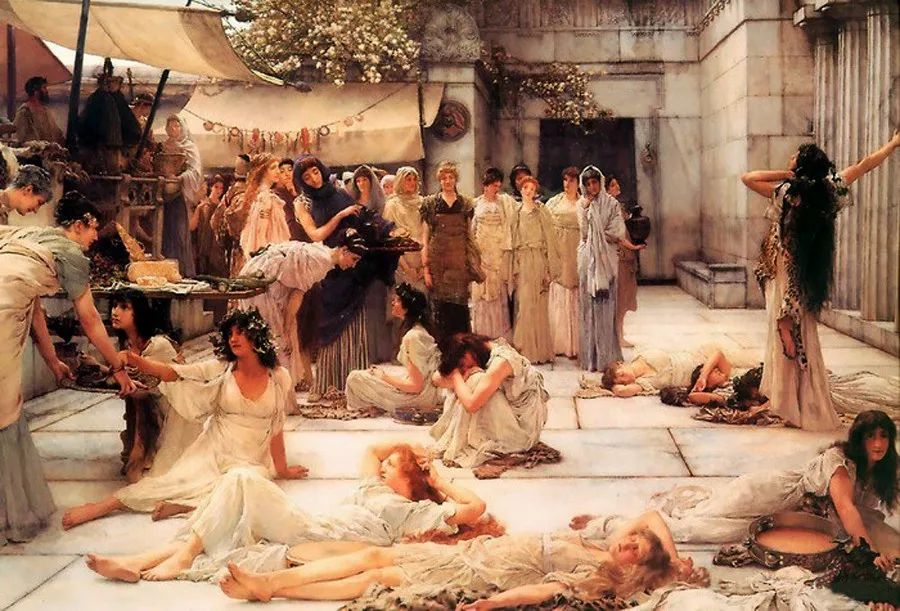 超群的写实技巧和优美的画面构成,英国画家Lawrence Alma Tadema插图9