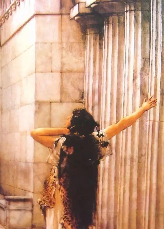 超群的写实技巧和优美的画面构成,英国画家Lawrence Alma Tadema插图10