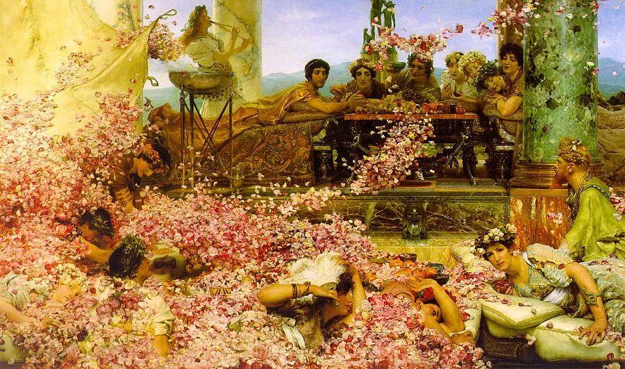 超群的写实技巧和优美的画面构成,英国画家Lawrence Alma Tadema插图14