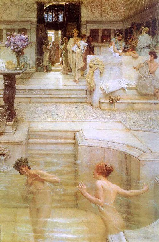 超群的写实技巧和优美的画面构成,英国画家Lawrence Alma Tadema插图16