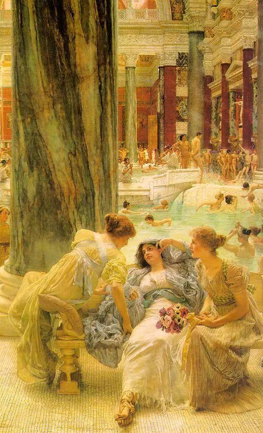 超群的写实技巧和优美的画面构成,英国画家Lawrence Alma Tadema插图17
