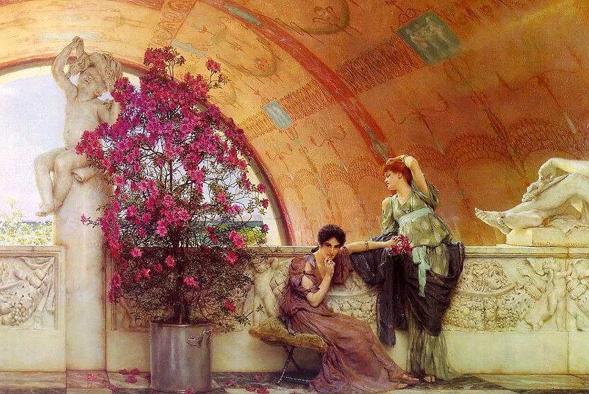 超群的写实技巧和优美的画面构成,英国画家Lawrence Alma Tadema插图18