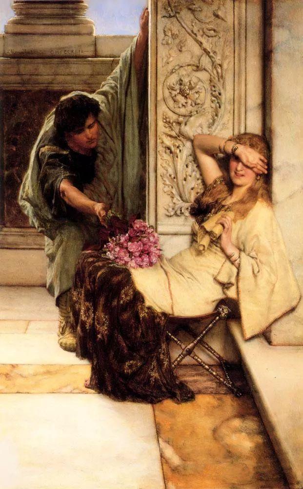 超群的写实技巧和优美的画面构成,英国画家Lawrence Alma Tadema插图20