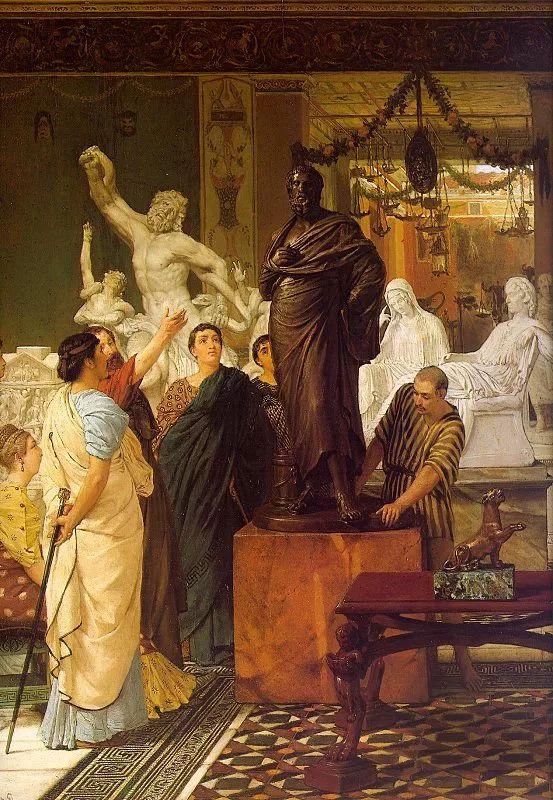 超群的写实技巧和优美的画面构成,英国画家Lawrence Alma Tadema插图22