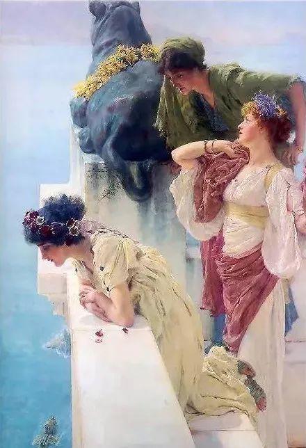 超群的写实技巧和优美的画面构成,英国画家Lawrence Alma Tadema插图23