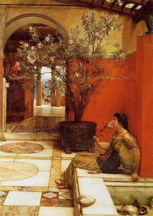 超群的写实技巧和优美的画面构成,英国画家Lawrence Alma Tadema插图24