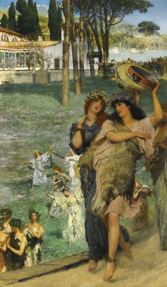 超群的写实技巧和优美的画面构成,英国画家Lawrence Alma Tadema插图26