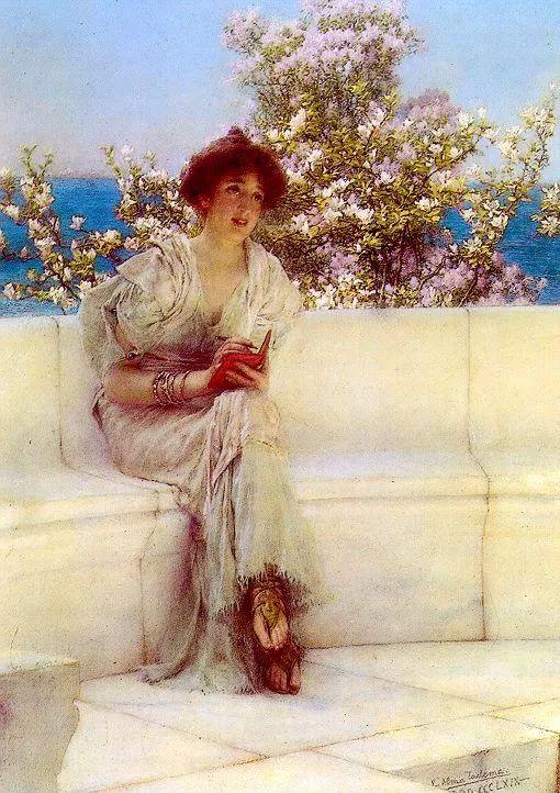 超群的写实技巧和优美的画面构成,英国画家Lawrence Alma Tadema插图28
