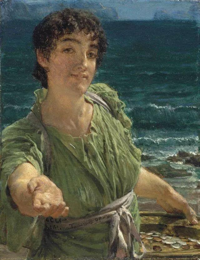 超群的写实技巧和优美的画面构成,英国画家Lawrence Alma Tadema插图30