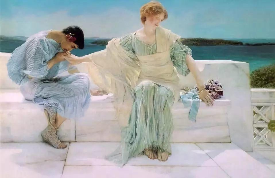 超群的写实技巧和优美的画面构成,英国画家Lawrence Alma Tadema插图31