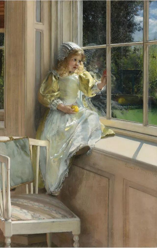 超群的写实技巧和优美的画面构成,英国画家Lawrence Alma Tadema插图34