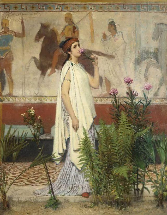 超群的写实技巧和优美的画面构成,英国画家Lawrence Alma Tadema插图35