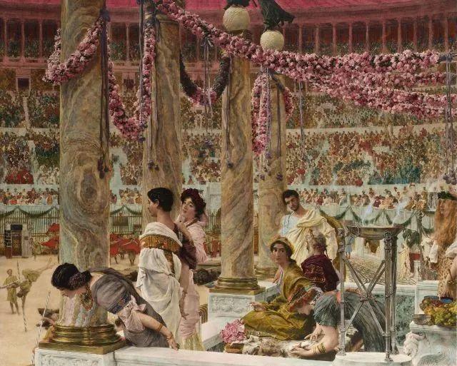 超群的写实技巧和优美的画面构成,英国画家Lawrence Alma Tadema插图36